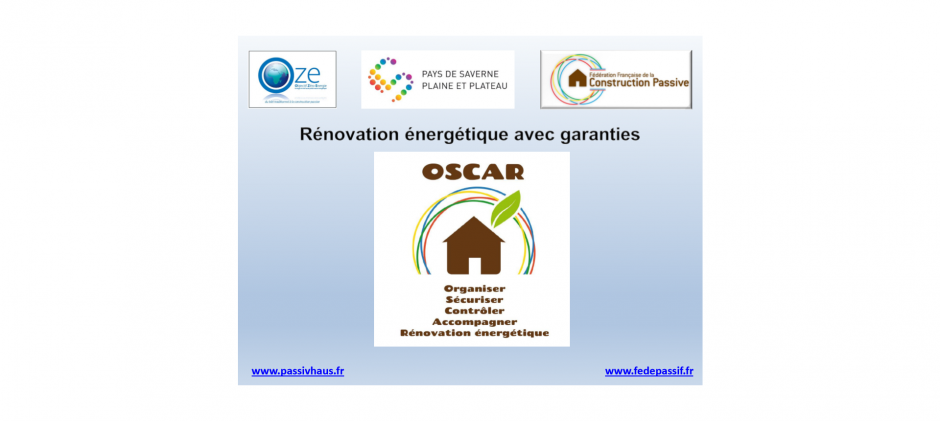 OSCAR : Rénovation énergétique avec garanties