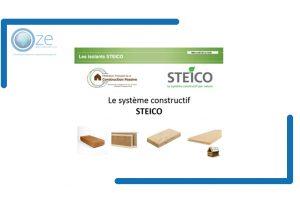 Le système constructif STEICO