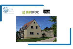 Construire passif en bloc de chanvre IsoHemp