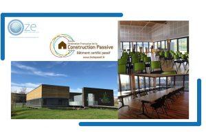 Article Technique – Bâtiment Certifié – Espace Eco Entreprenant / Certificat Fédépassif 2015-25